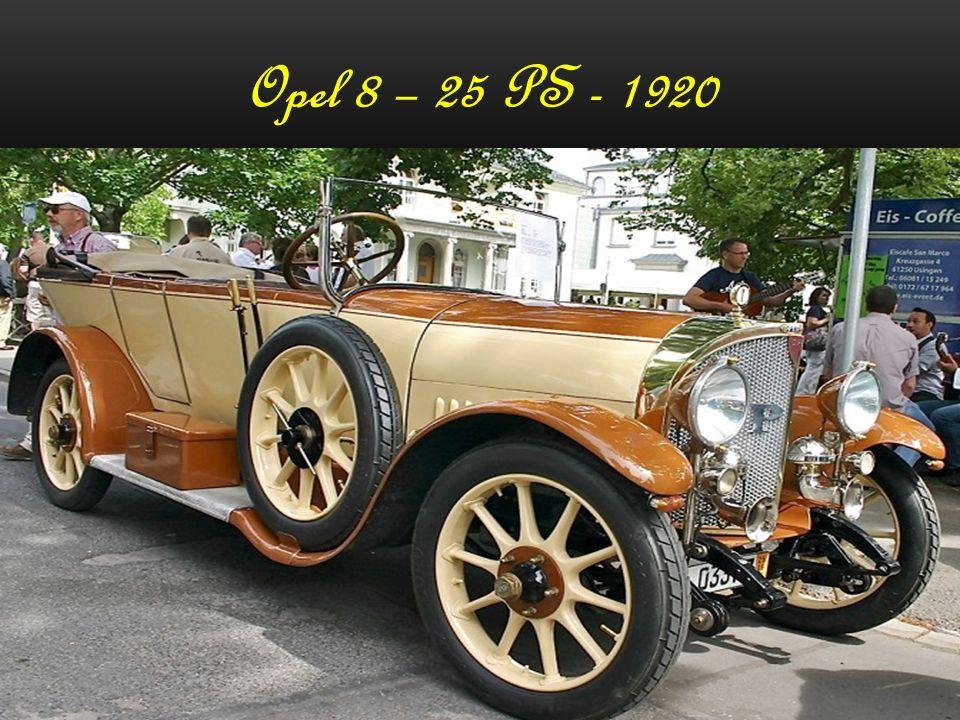 Opel 8 – 25 PS - 1920