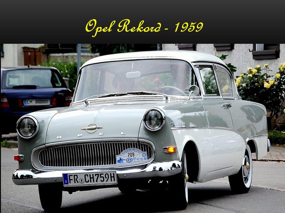 Opel Rekord - 1959