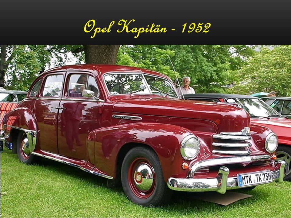 Opel Kapitän - 1952