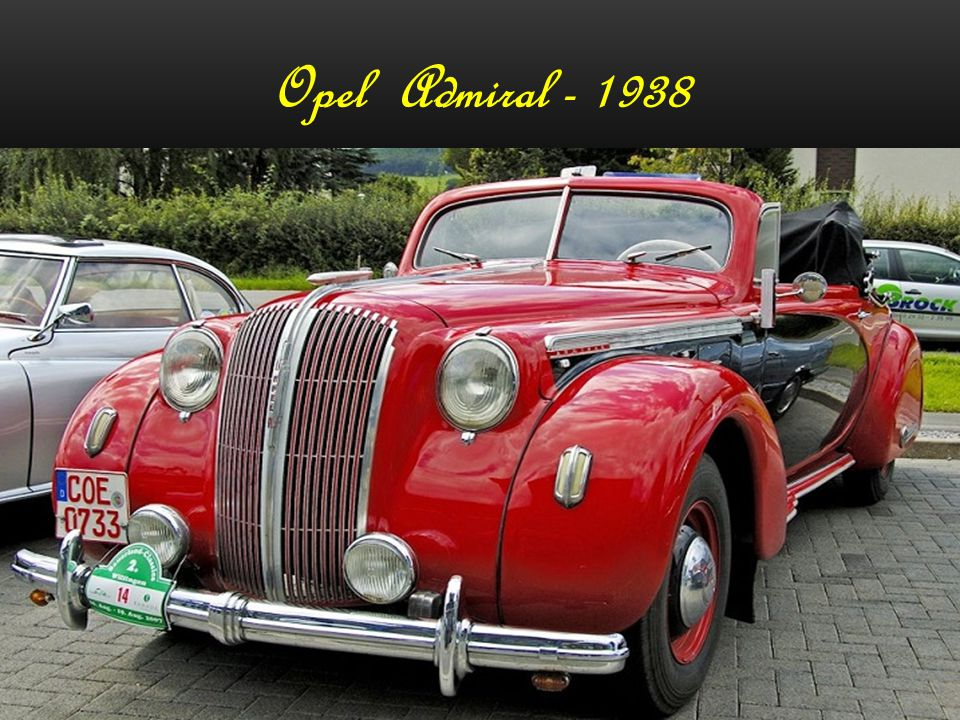 Opel Admiral - 1938