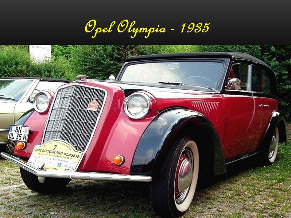 Opel Olympia - 1935