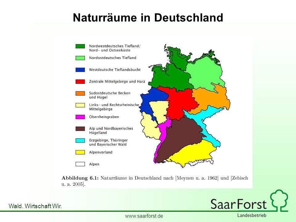 Naturräume in Deutschland