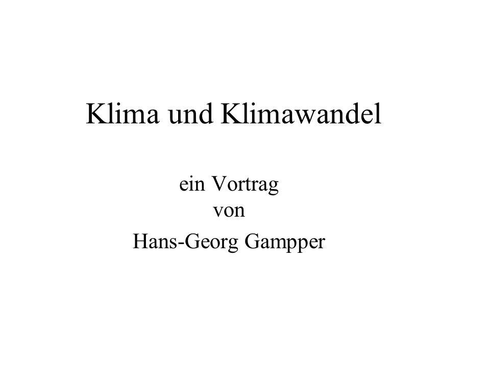 ein Vortrag von Hans-Georg Gampper