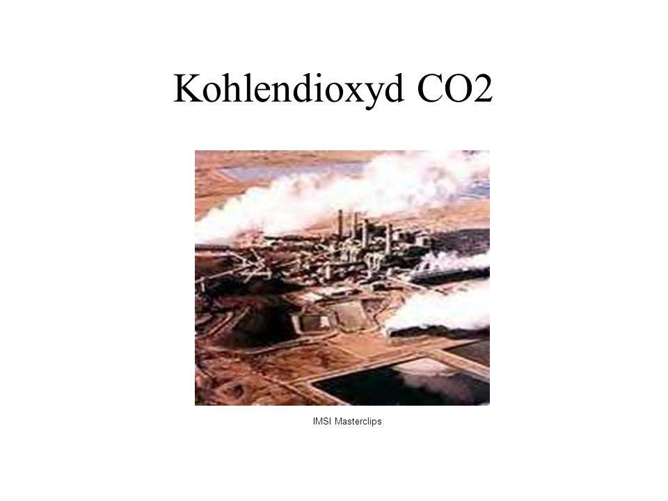 Kohlendioxyd CO2 Kohlendioxid