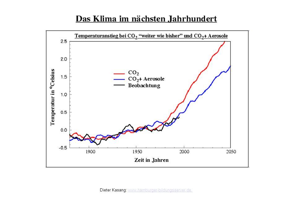 Das Klima im nächsten Jahrhundert