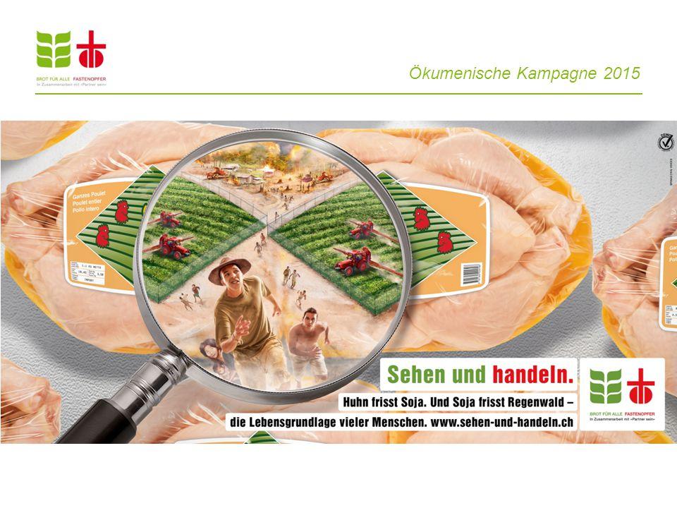 Um den Zusammenhang zwischen Konsum, Umweltzerstörung und Hunger näher zu bringen, legt die Ökumenische Kampagne den Fokus auf unseren Fleischkonsum.