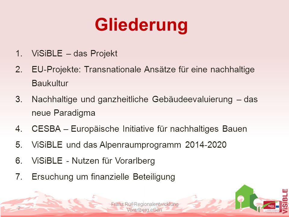 Franz Rüf/Regionalentwicklung Vorarlberg eGen