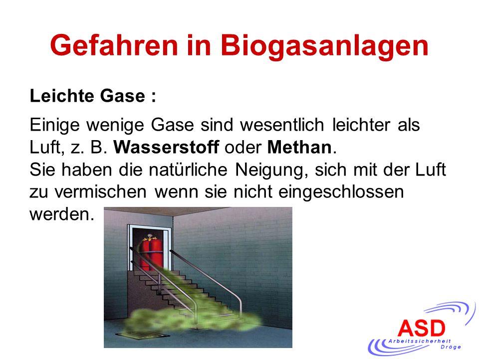 Gefahren in Biogasanlagen