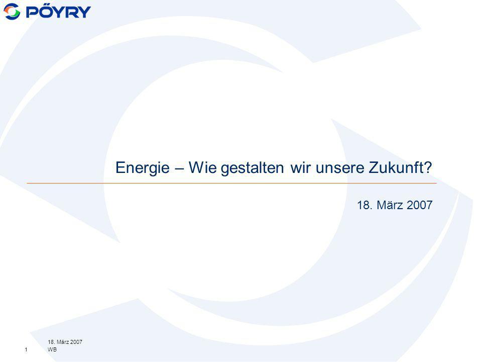 Energie – Wie gestalten wir unsere Zukunft