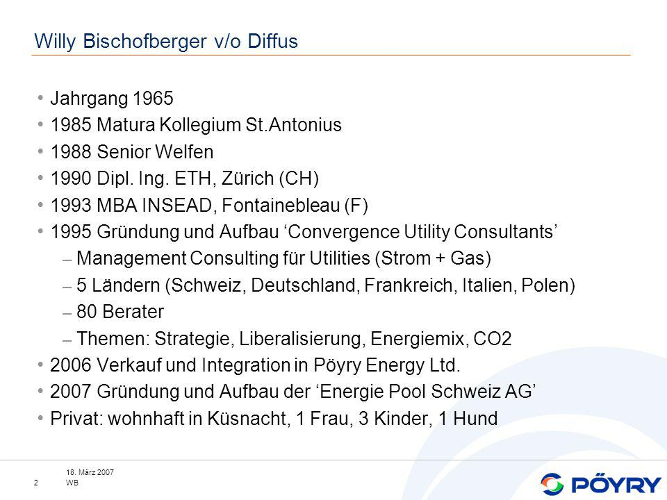 Willy Bischofberger v/o Diffus