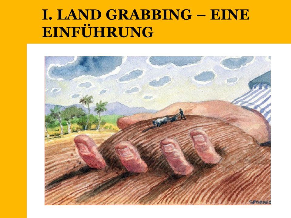 I. LAND GRABBING – EINE EINFÜHRUNG
