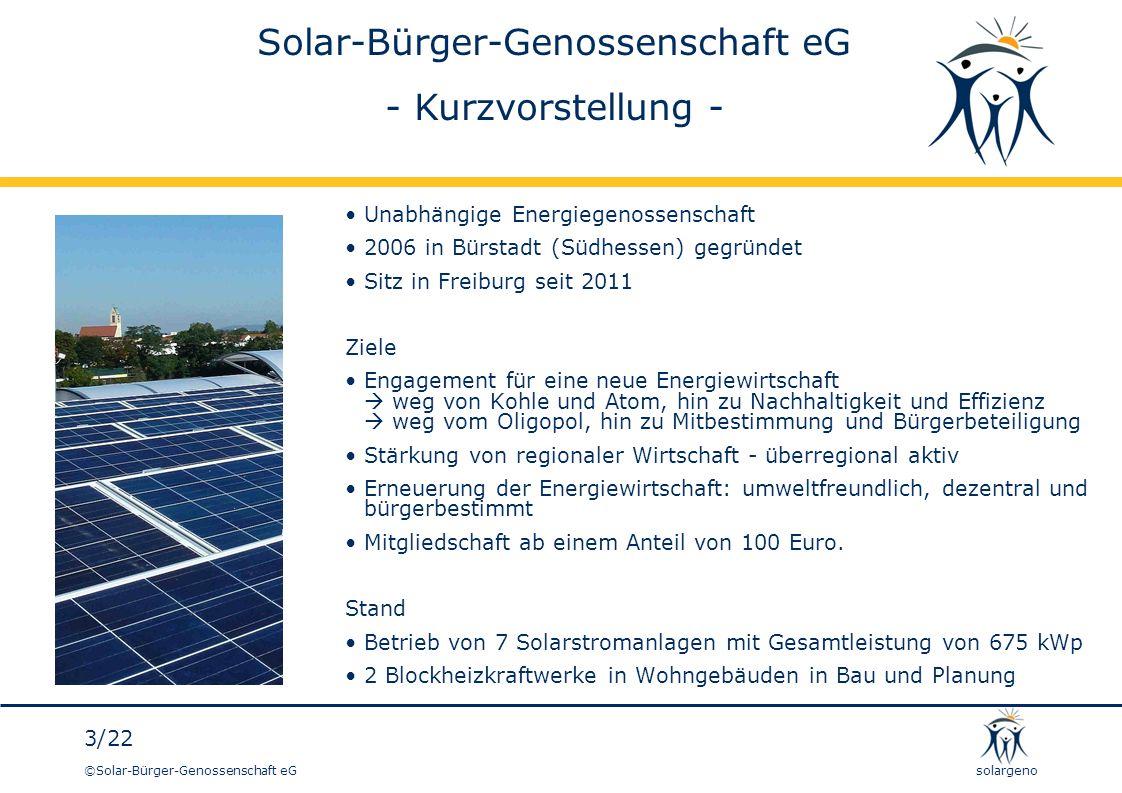 Solar-Bürger-Genossenschaft eG