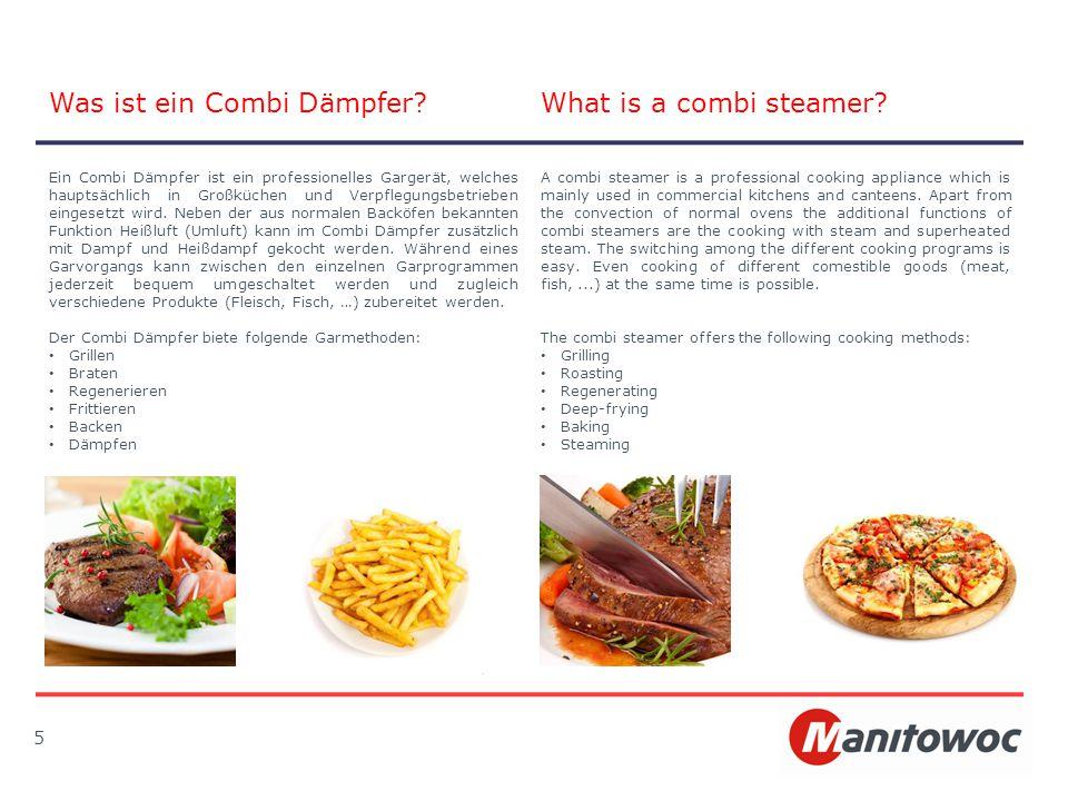 Was ist ein Combi Dämpfer What is a combi steamer