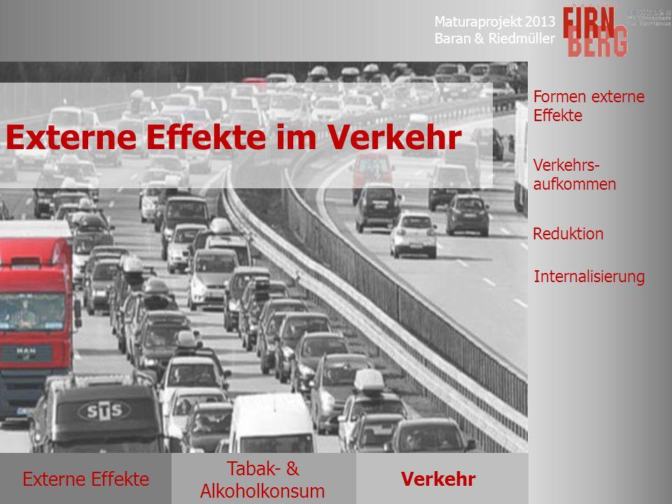 Externe Effekte im Verkehr