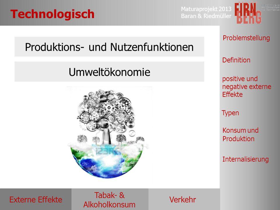 Produktions- und Nutzenfunktionen