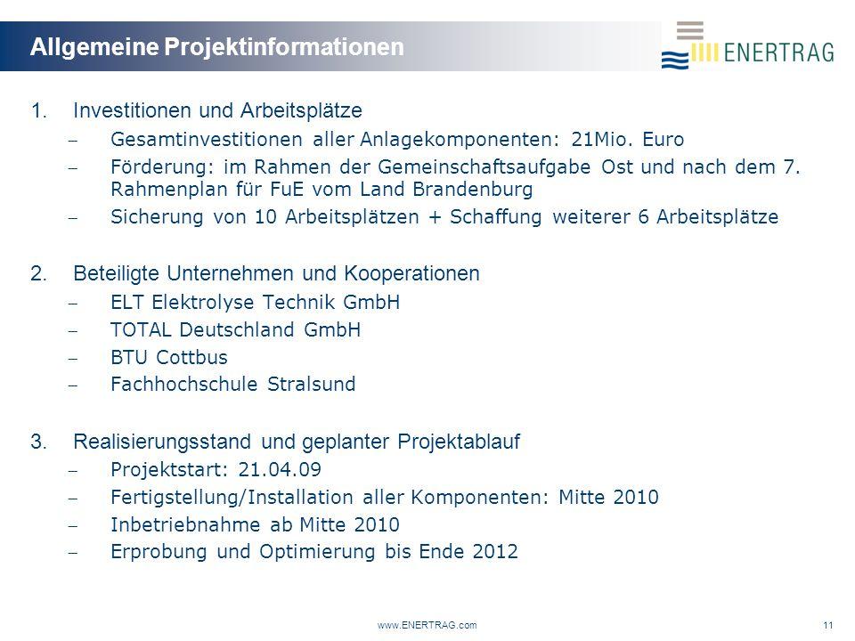Allgemeine Projektinformationen