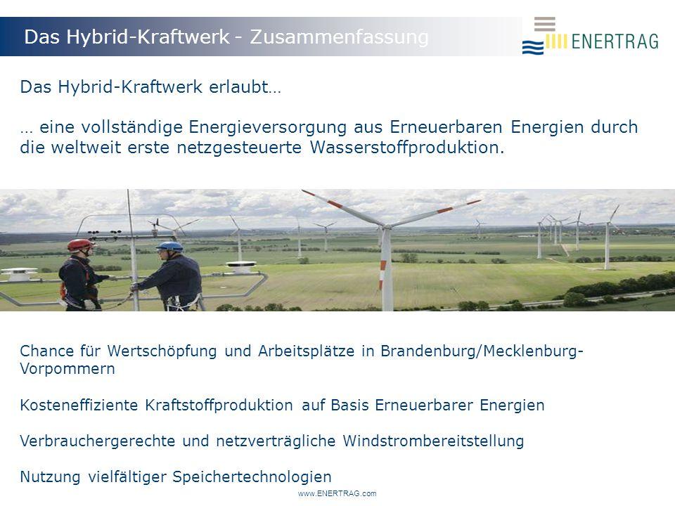 Das Hybrid-Kraftwerk - Zusammenfassung