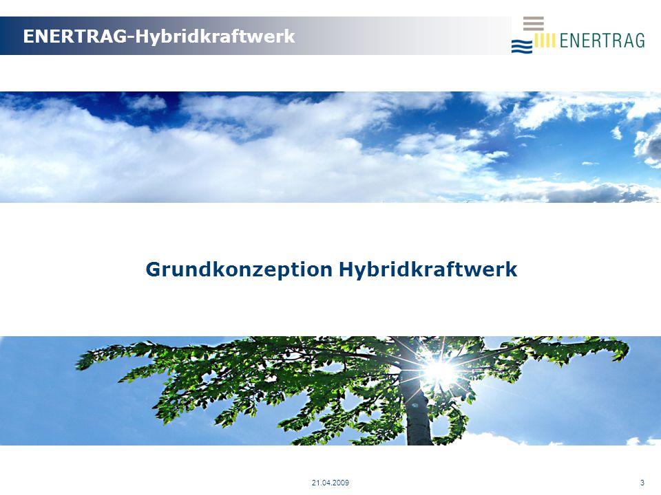 Grundkonzeption Hybridkraftwerk