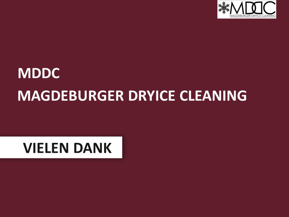 Magdeburger dryice cleaning