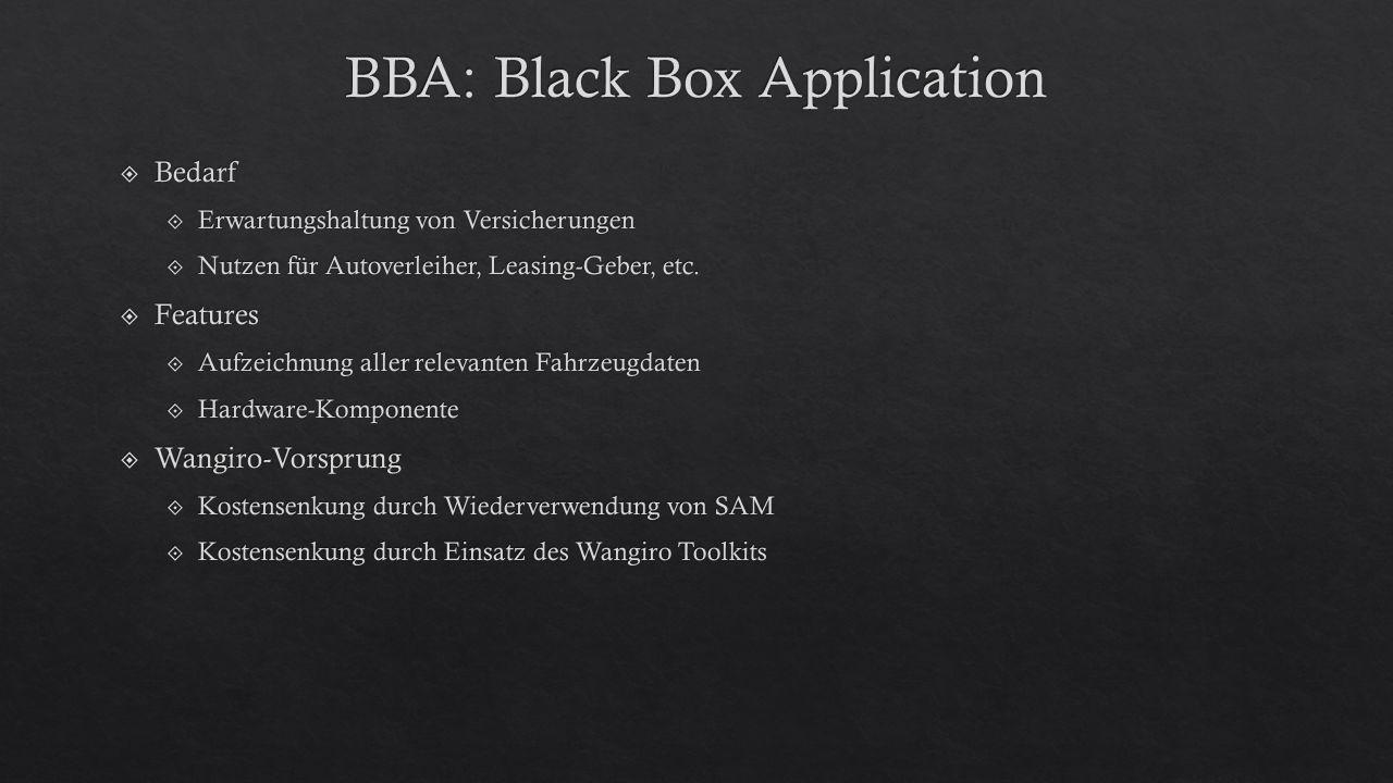 BBA: Black Box Application