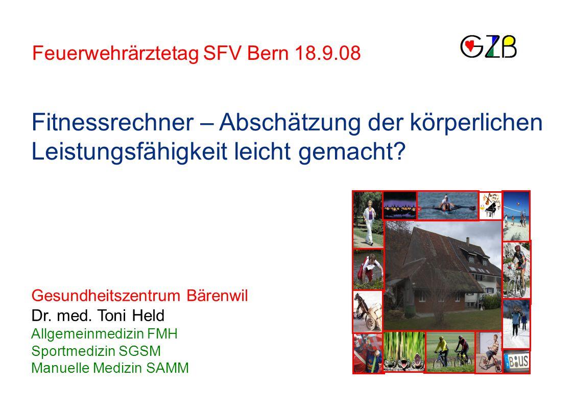 Feuerwehrärztetag SFV Bern 18.9.08