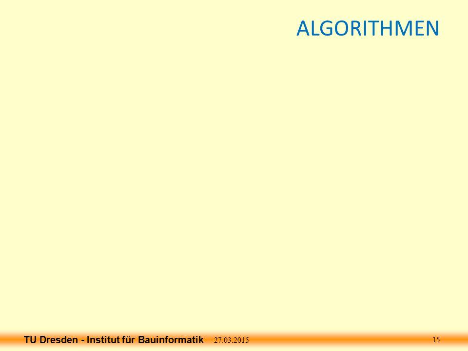 ALGORITHMEN 08.04.2017 15