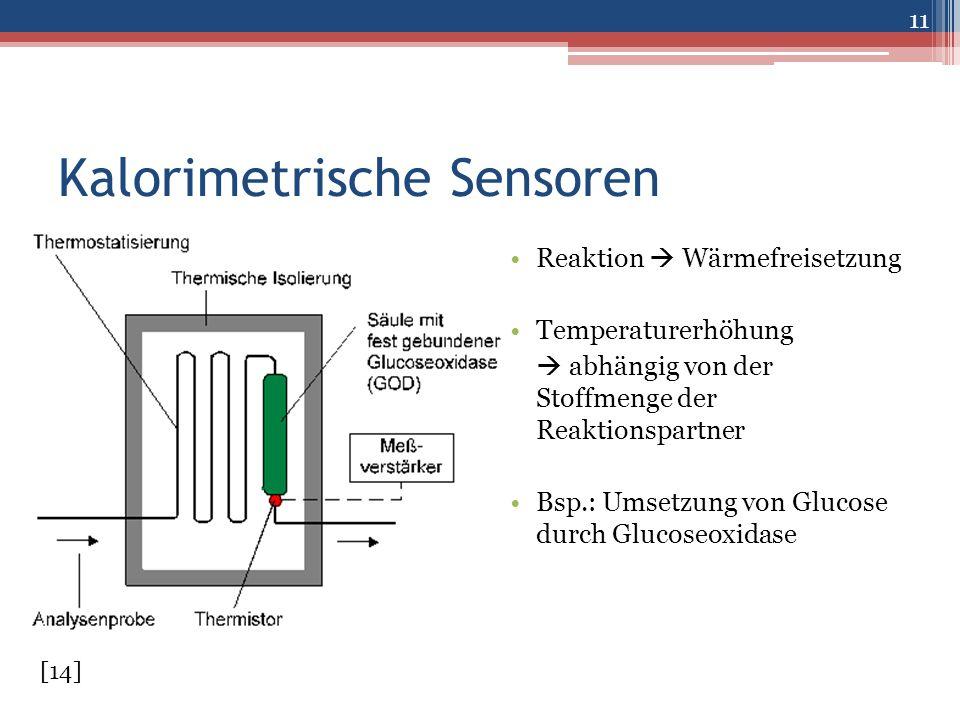 Kalorimetrische Sensoren
