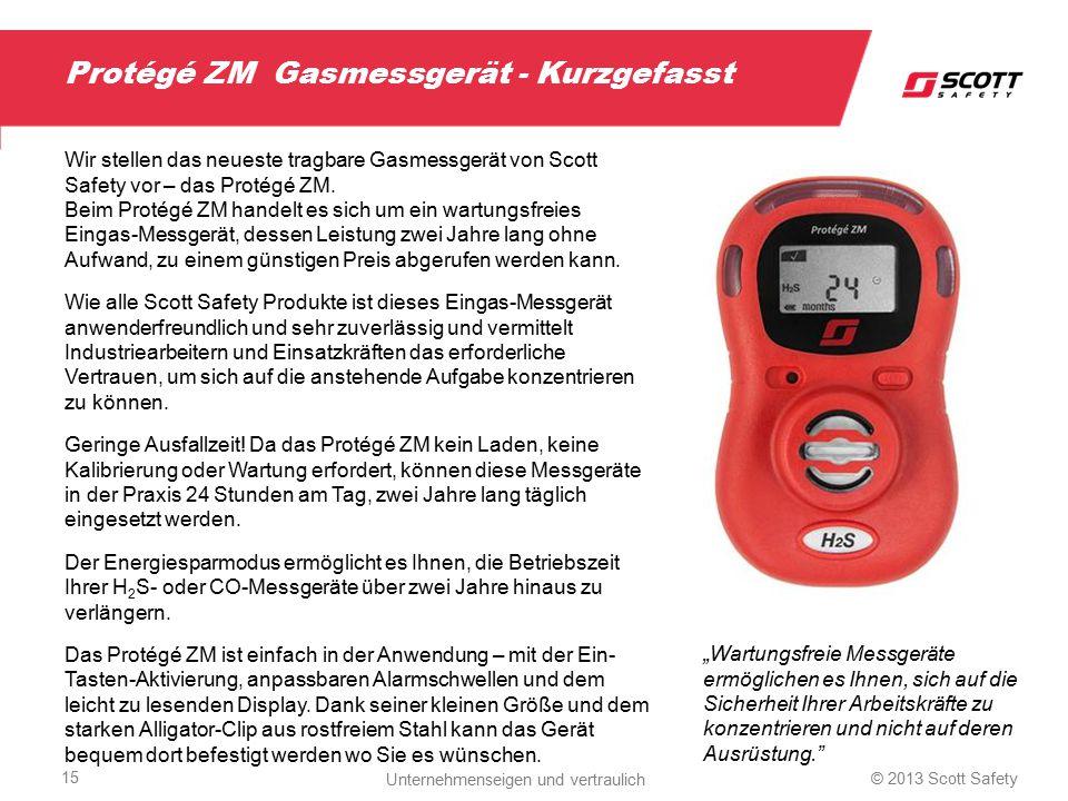 Protégé ZM Gasmessgerät - Kurzgefasst