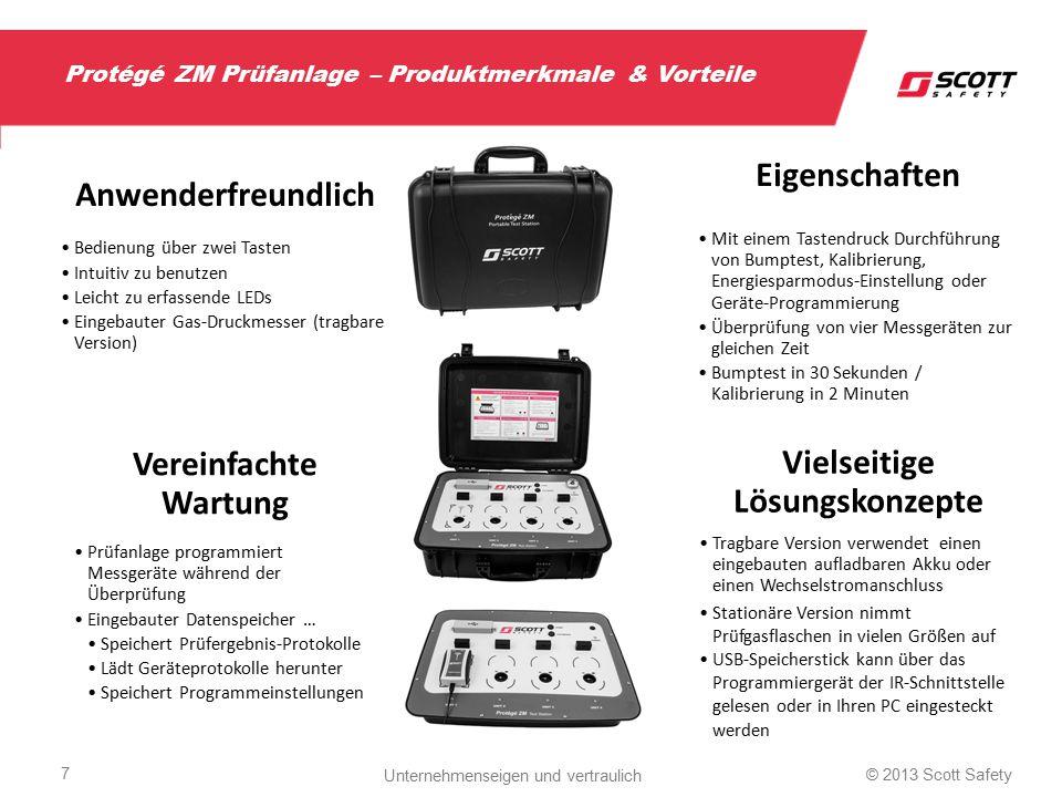 Protégé ZM Prüfanlage – Produktmerkmale & Vorteile