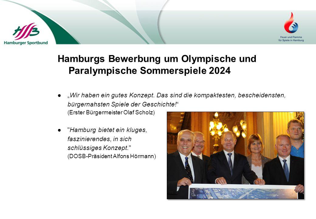 Hamburgs Bewerbung um Olympische und Paralympische Sommerspiele 2024