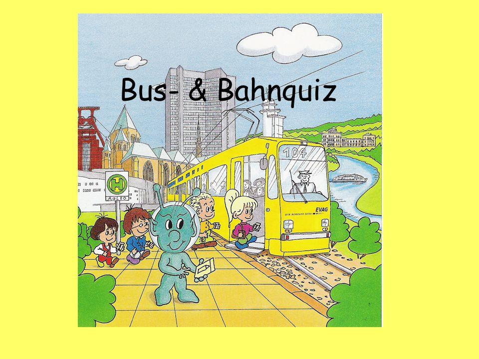 Bus- & Bahnquiz