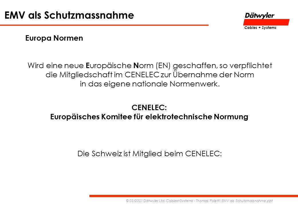 Europäisches Komitee für elektrotechnische Normung