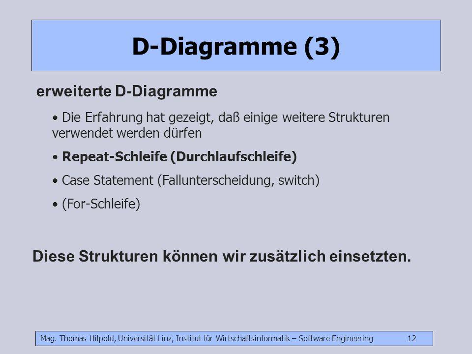 D-Diagramme (3) erweiterte D-Diagramme