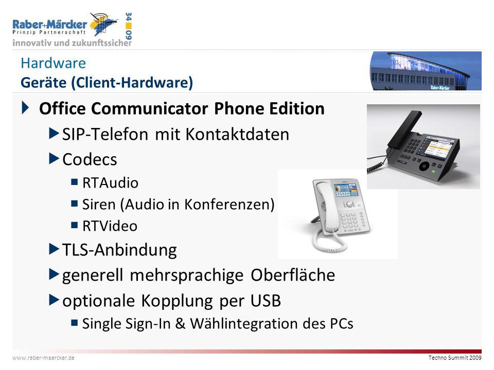 Hardware Geräte (Client-Hardware)