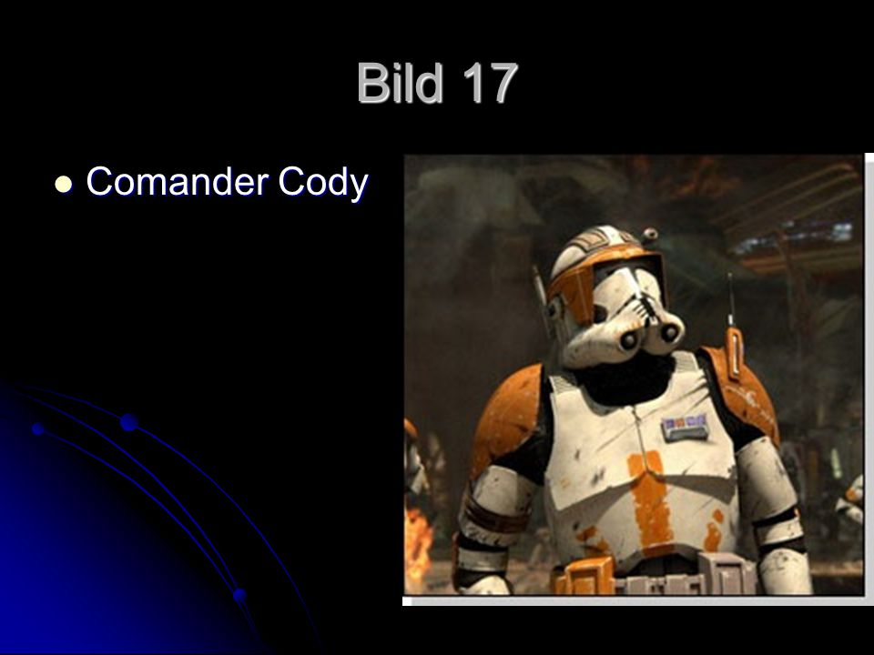 Bild 17 Comander Cody