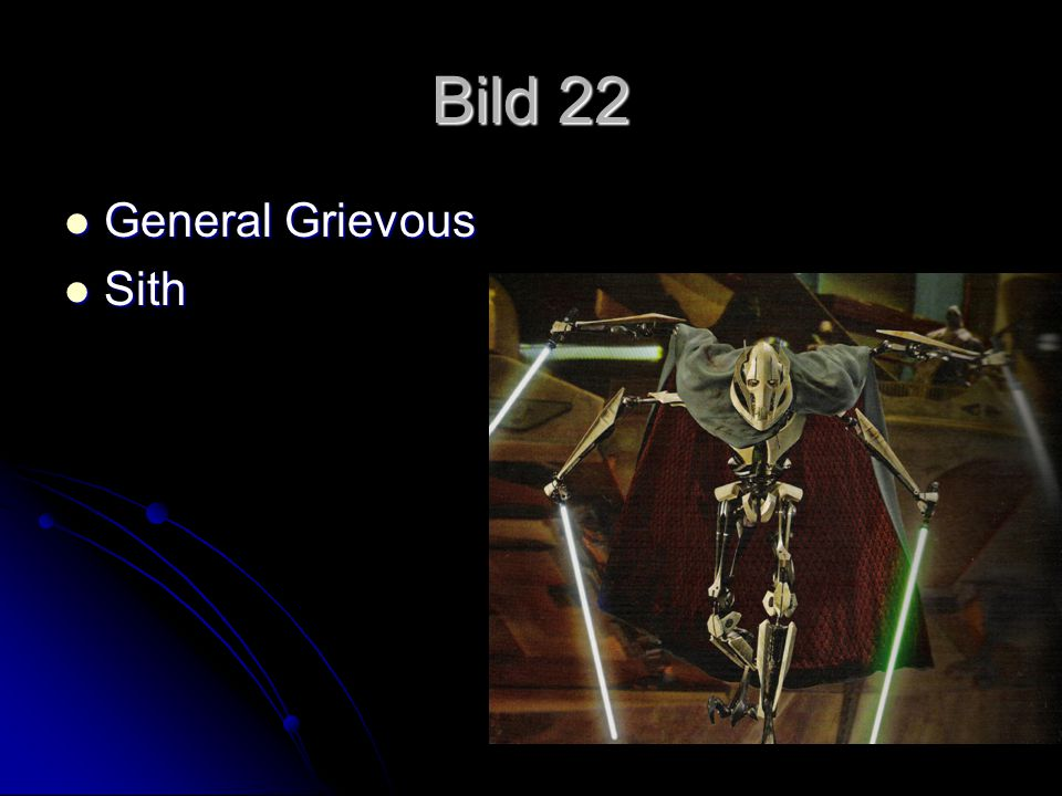 Bild 22 General Grievous Sith