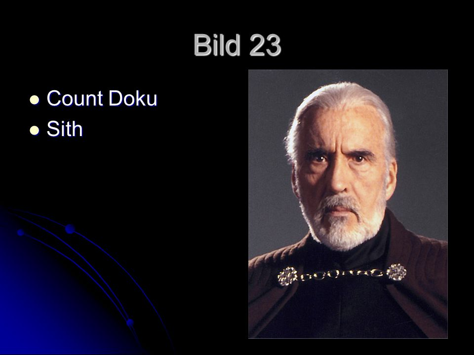 Bild 23 Count Doku Sith