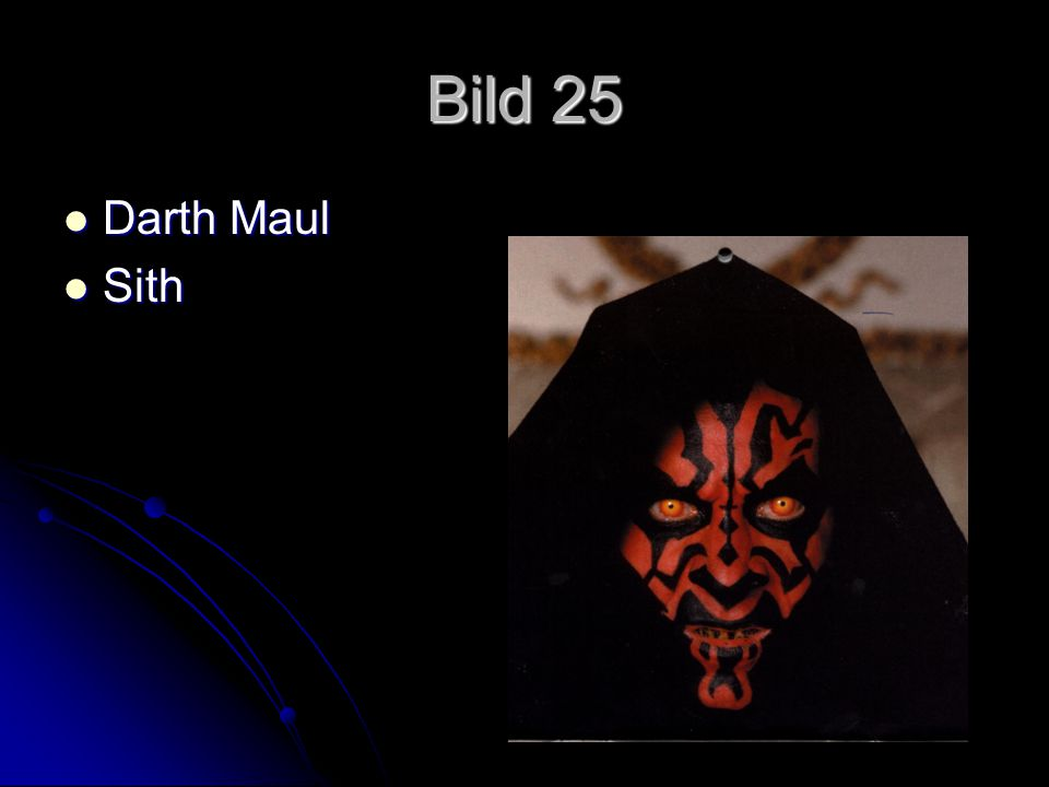 Bild 25 Darth Maul Sith