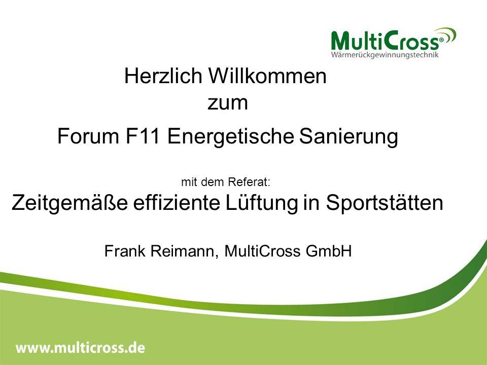 Forum F11 Energetische Sanierung