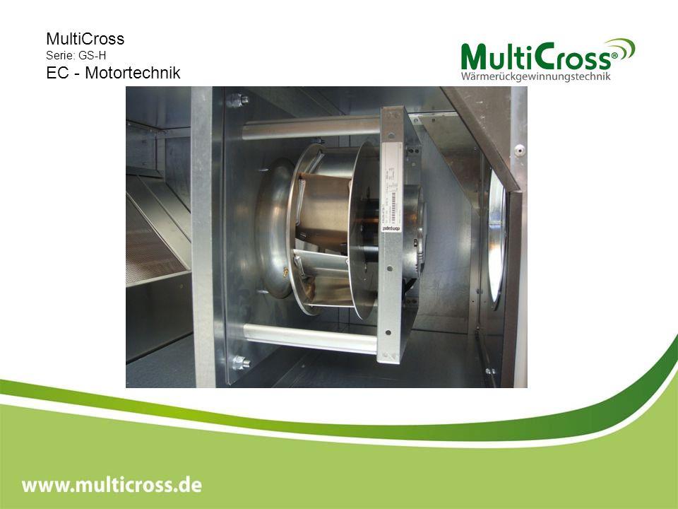 MultiCross Serie: GS-H EC - Motortechnik