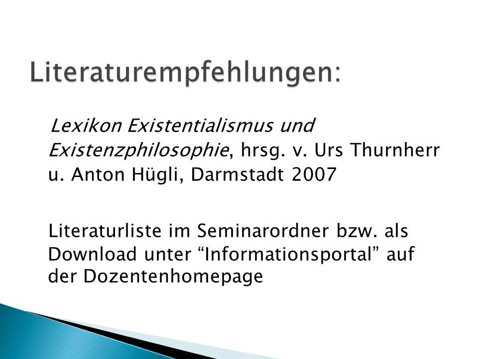 Literaturempfehlungen: