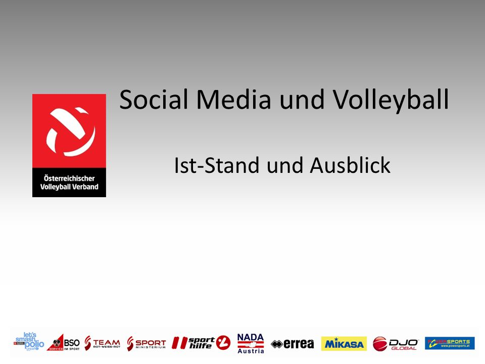 Social Media und Volleyball