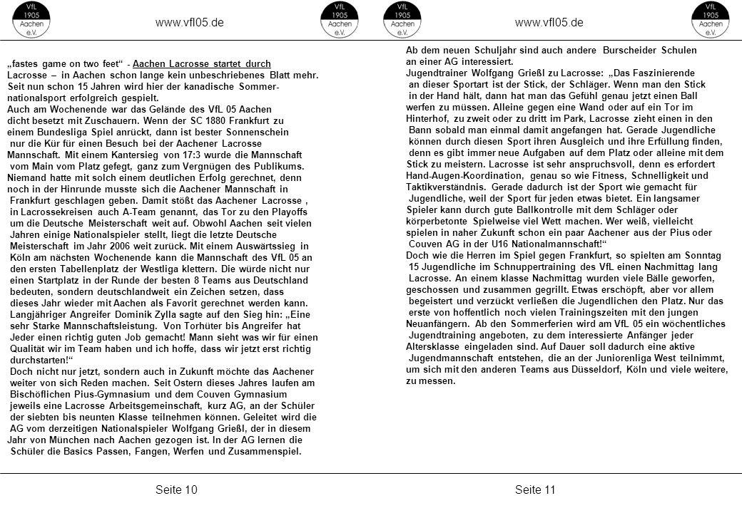 www.vfl05.de www.vfl05.de Seite 10 Seite 11 Erzeugt: 04.05.2011 04:33