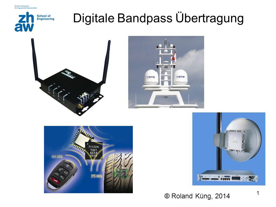 Digitale Bandpass Übertragung