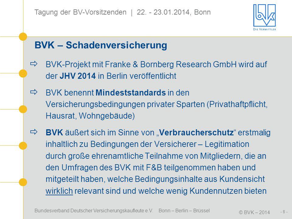 BVK – Schadenversicherung