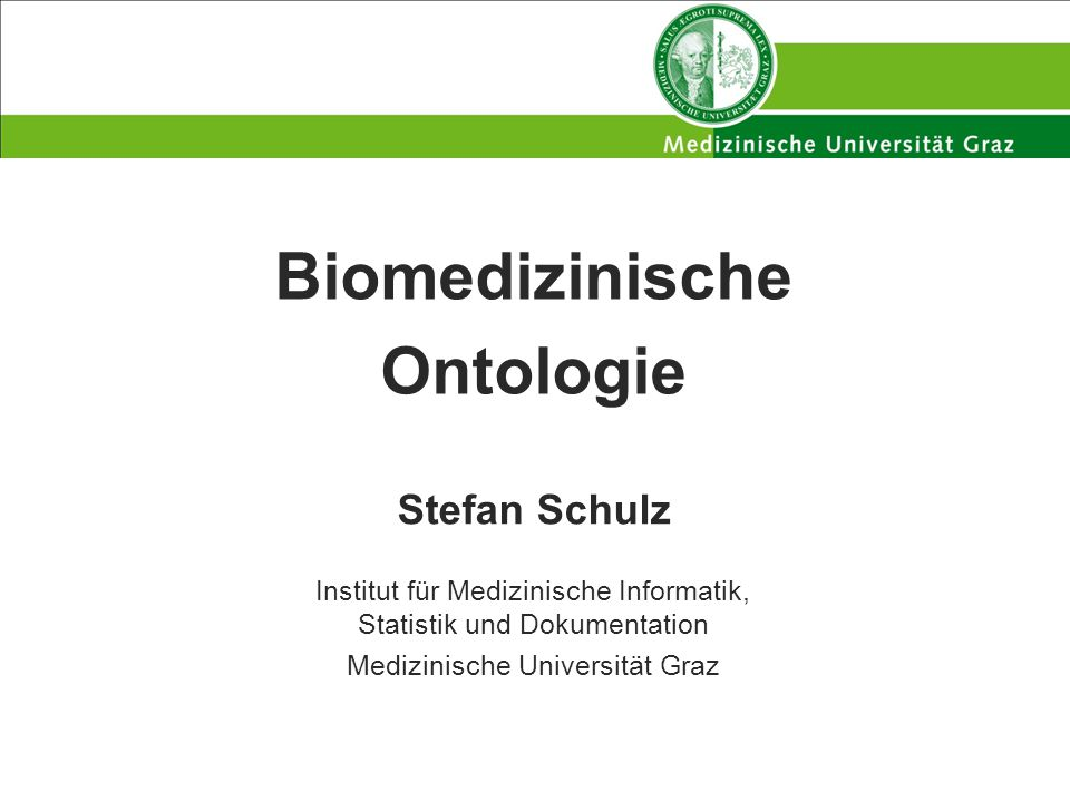 Biomedizinische Ontologie
