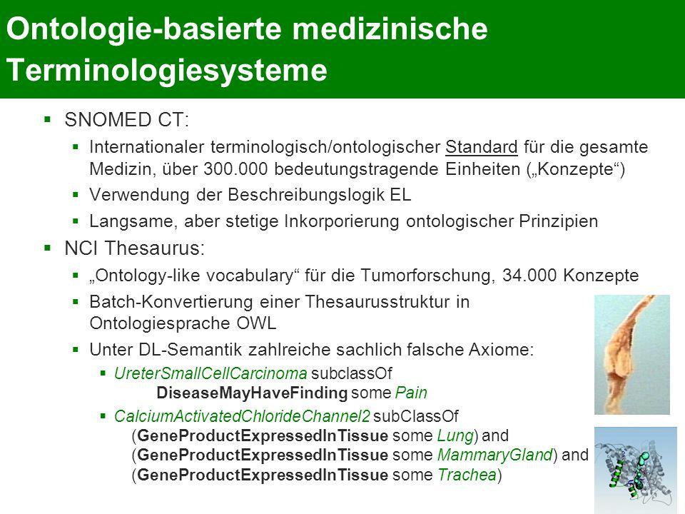 Ontologie-basierte medizinische Terminologiesysteme
