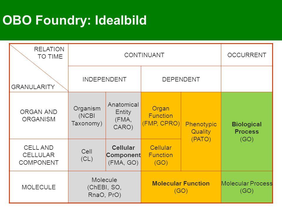 OBO Foundry: Idealbild