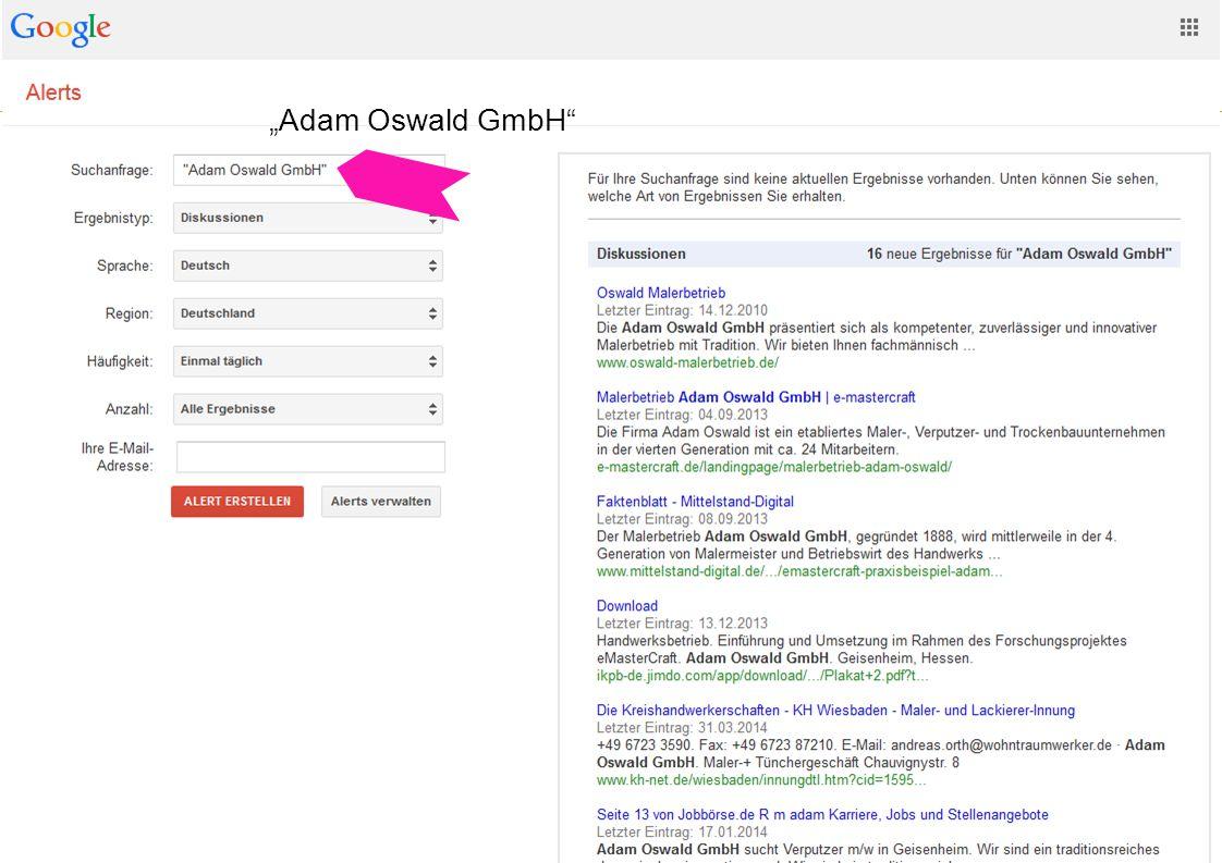 Websitegestaltung und -usability