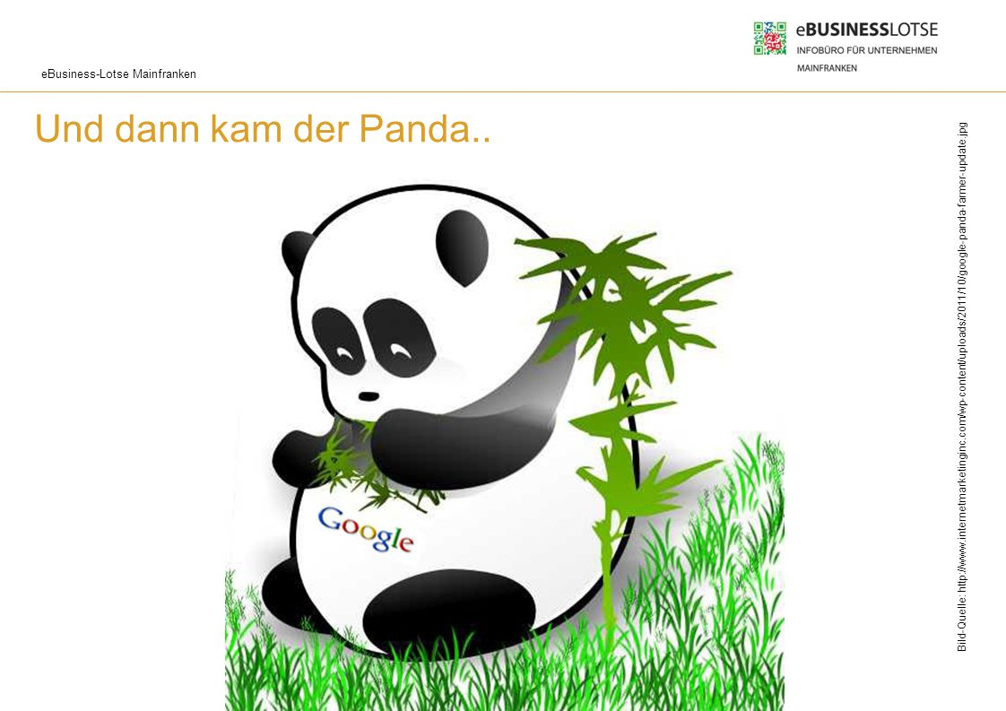 Und dann kam der Panda.. Und dann kam der Panda: